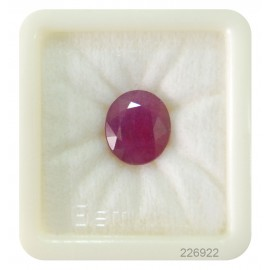 African Ruby Gemstone Fine 13+ 8.1ct
