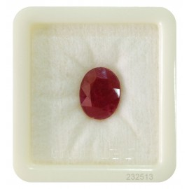 Natural Ruby Gemstone Premium 9+ 5.4ct