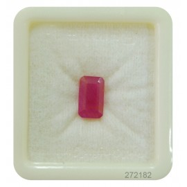 Lab Certified Ruby StoneFine 4+ 2.5ct