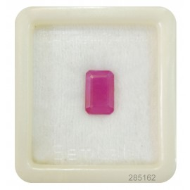 Natural Ruby Gemstone Fine 5+ 3.1ct