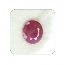 Certified Ruby Gemstone Fine 7+ 4.2ct