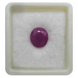 Natural Ruby Gemstone Premium 8+ 5ct